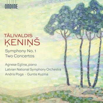 Cover Ķeniņš: Symphony No. 1 & 2 Concertos