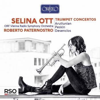 Cover Arutiunian, Peskin & Desenclos: Trumpet Concertos