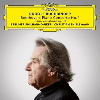 Cover Beethoven: Piano Concerto No. 1, Op. 15; 6 Piano Variations in F Major, Op. 34