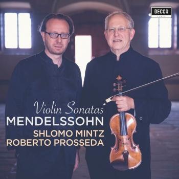 Cover Mendelssohn: Violin Sonatas
