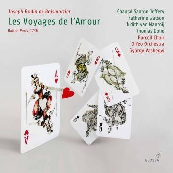 Cover Boismortier: Les voyages de l'Amour, Op. 60