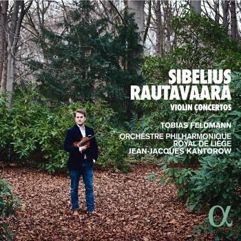 Cover Sibelius & Rautavaara: Violin Concertos