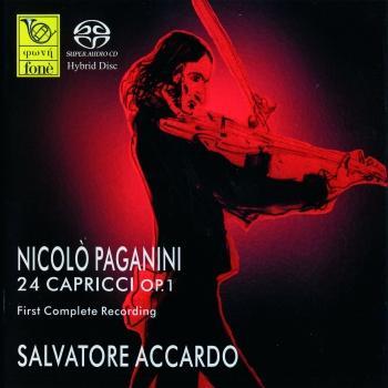 Cover Nicolò Paganini: 24 Capricci Op.1 (Remastered)