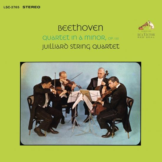 Cover Beethoven: String Quartet No. 15 in A Minor, Op. 132