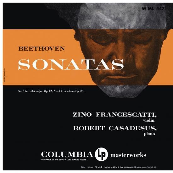 Cover Beethoven: Violin Sonatas Nos. 3 & 4 (Remastered)