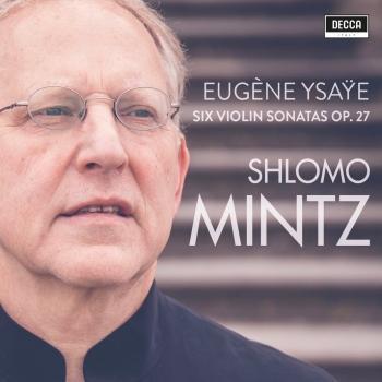 Cover Ysaÿe: Violin Sonatas Op. 27