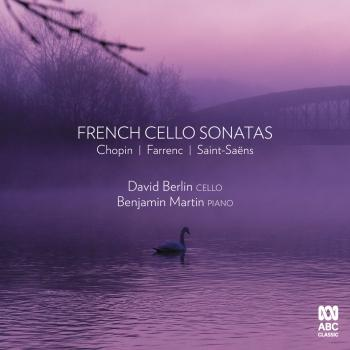 Cover French Cello Sonatas