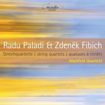 Cover Radu Paladi & Zdenek Fibich String Quartets