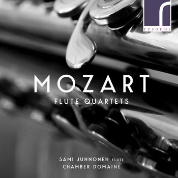 Cover Wolfgang Amadeus Mozart: Flute Quartets