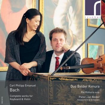 Cover C.P.E. Bach: Complete Works for Keyboard and Violin
