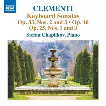 Cover Clementi: Keyboard Sonatas, Opp. 25, 33 & 46
