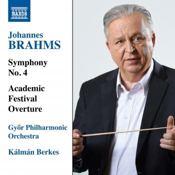 Cover Brahms: Symphony No. 4 & Academic Festival Overture