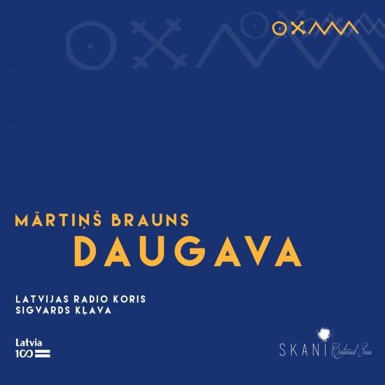 Cover Brauns: DAUGAVA
