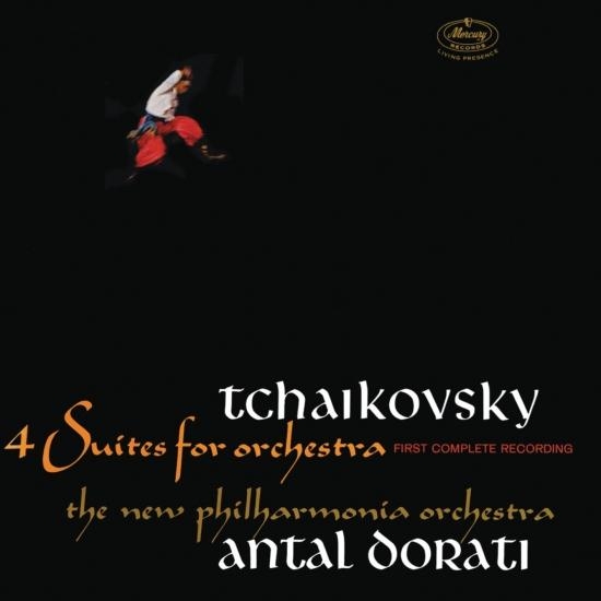 Cover Tchaikovsky: 4 Suites For Orchestra