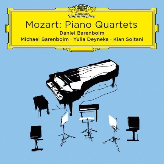 Cover Mozart: Piano Quartets (Live At Pierre Boulez Saal)