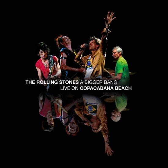 Cover A Bigger Bang (Live on Copacabana Beach - Remastered)