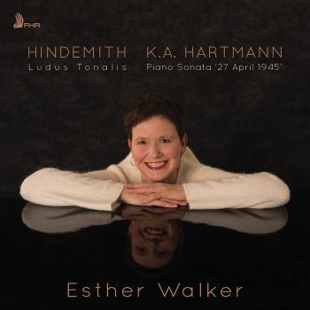 Cover Hindemith: Ludus Tonalis - Hartmann: Piano Sonata '27 April 1945'
