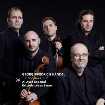 Cover Händel: Trio Sonatas Op. 2