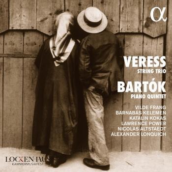 Cover Veress String Trio / Bartók Piano Quintet