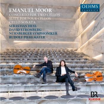 Cover Moór: Cello Works