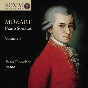 Cover Mozart: Piano Sonatas, Vol. 3