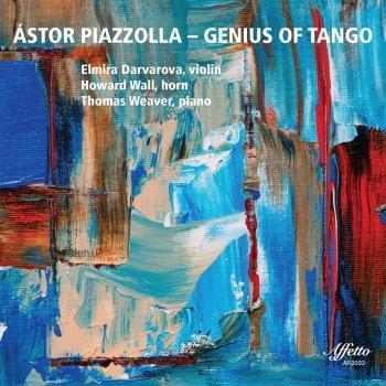 Cover Astor Piazzolla: Genius of Tango