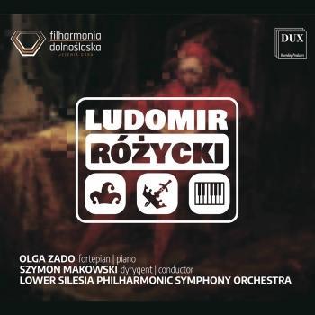 Cover Różycki: Orchestral Works