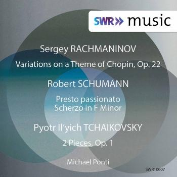 Cover Schumann, Tchaikovsky & Rachmaninoff: Piano Works