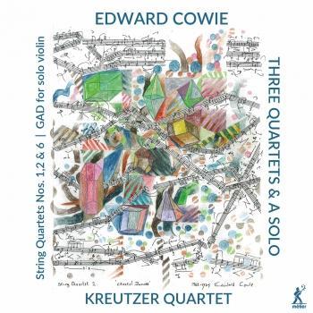 Cover Edward Cowie: 3 Quartets & a Solo