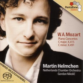 Cover Mozart: Piano Concertos Nos. 13 and 24
