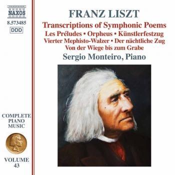 Cover Liszt: Transcriptions of Symphonic Poems