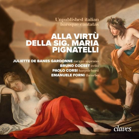 Cover Alla Virtù della Sig. Maria Pignatelli - Unpublished italian baroque cantatas
