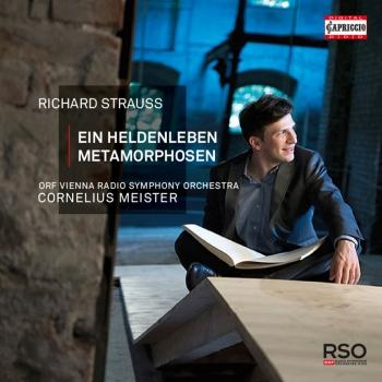 Cover R. Strauss: Ein Heldenleben, Op. 40, TrV 190 & Metamorphosen, TrV 290 (Live)