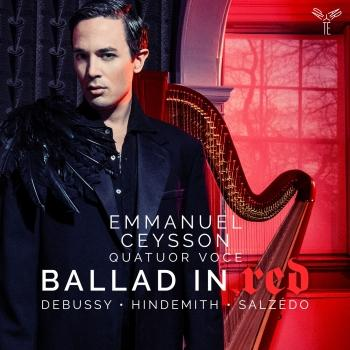Cover Debussy, Hindmith & Salzedo: Ballad in Red