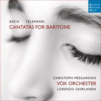 Cover Bach/Telemann: Cantatas for Baritone