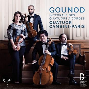 Cover Gounod: Complete String Quartets