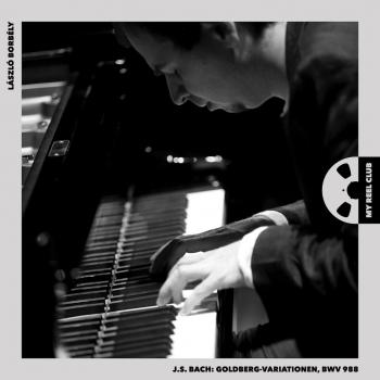 Cover J.S. Bach, Goldberg-Variationen, BWV 988