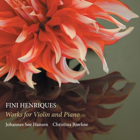Cover Fini Henriques: Works for Violin & Piano