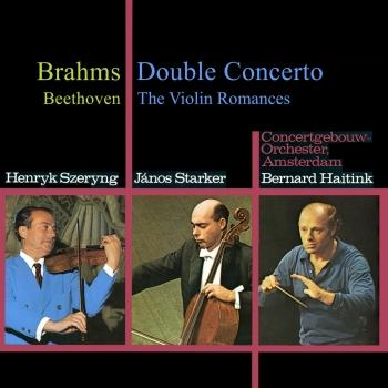 Cover Brahms: Double Concerto / Beethoven: 2 Romances