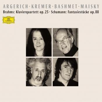 Cover Brahms: Klavierquartett, Op.25 / Schumann: Fantasiestücke, Op.88