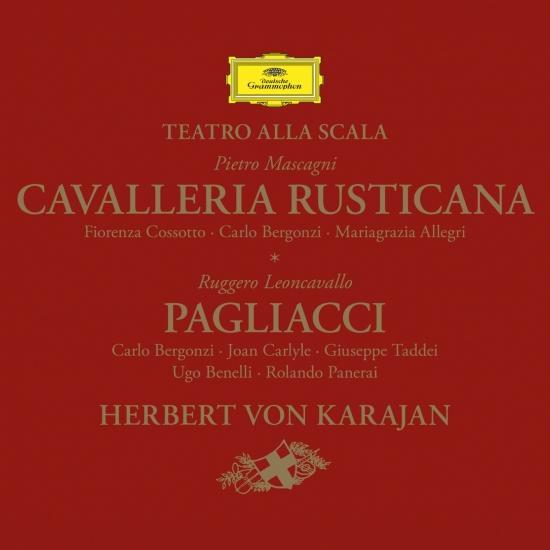 Cover Mascagni: Cavalleria rusticana / Leoncavallo: Pagliacci (Remastered)