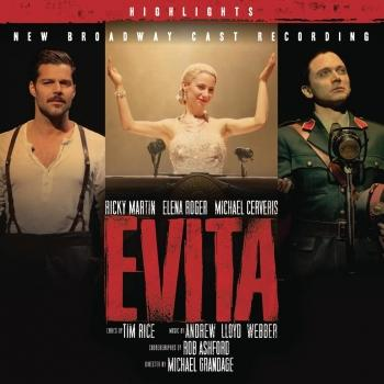 Cover Evita (New Broadway Cast Recording)