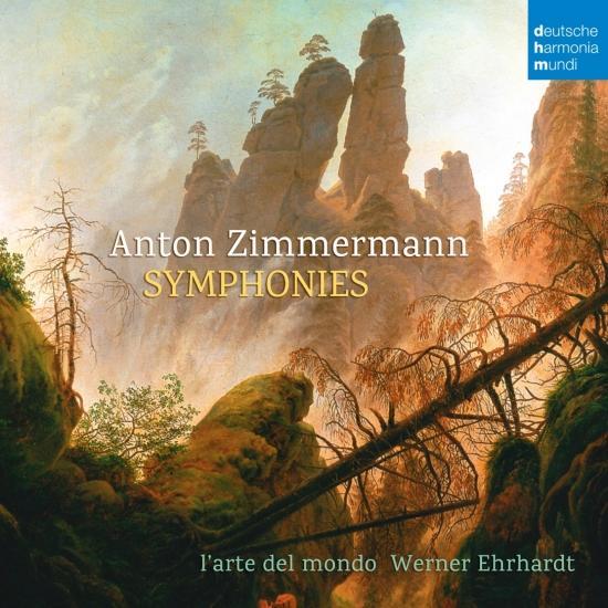 Cover Anton Zimmermann: Symphonies
