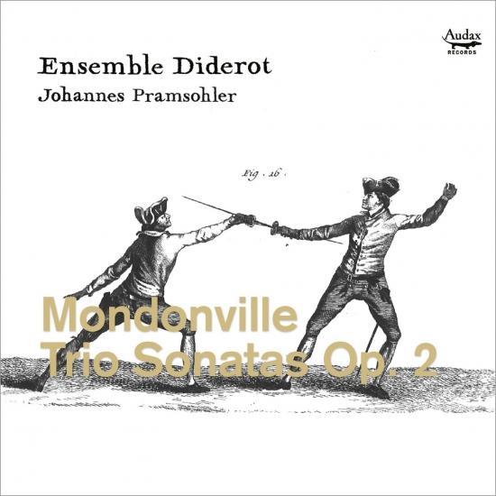 Cover Mondonville: Trio Sonatas, Op. 2