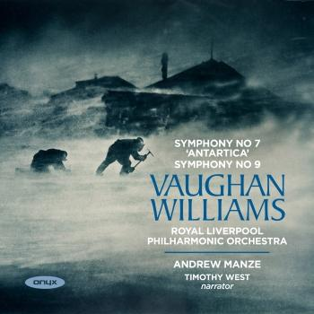 Cover Vaughan Williams: Sinfonia Antartica, Symphony No. 9 in E Minor