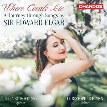 Cover Where Corals Lie, A Journey through Songs by Sir Edward Elgar