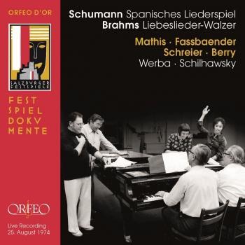 Cover Schumann: Spanisches Liederspiel, Op. 74 - Brahms: 18 Liebeslieder Waltzes, Op. 52 (Live)