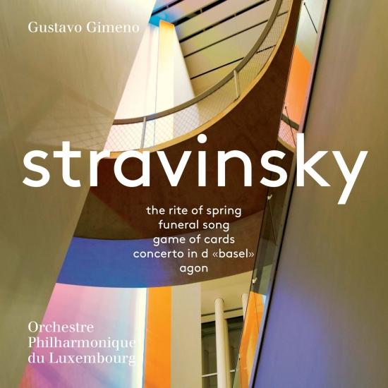 Cover Stravinsky: Orchestral Works