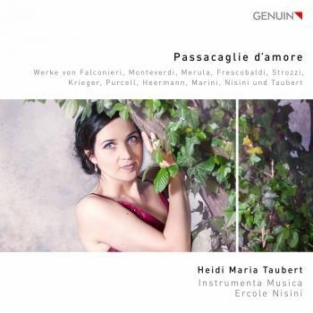 Cover Passacaglie d'amoré