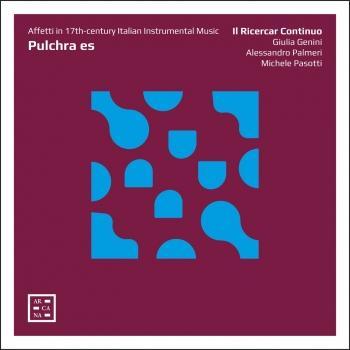 Cover Pulchra es: Affetti in 17th-century Italian Instrumental Music